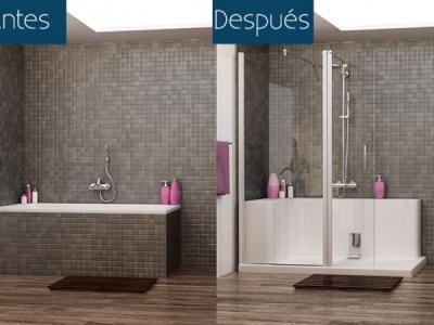 banos reformar bano muebles de bano mamparas de bano cambiar banera por ducha cambio banera por plato de ducha porcelana
