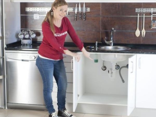 cambio instalacion fontaneria en cocina