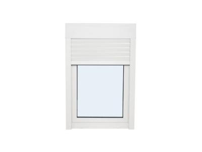 ventanas ventanas de pvc ventanas de aluminioventana de pvc una hoja practicable y oscilobatiente con persiana 1000 mm x 1000 mm