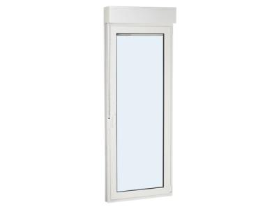 ventanas ventanas de pvc ventanas de aluminiopuerta de pvc una hoja practicable y oscilobatiente con persiana 1000 mm x 2300 mm